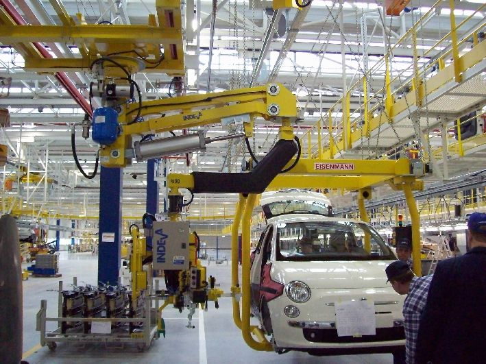 Automotive handling solutions - car assembly